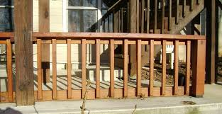 How To Build A Handrail On A Deck How To Build A 2x4 Deck Rail On A Concrete Patio