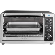 Walmart Toaster Oven Canada Black Decker 6 Slice Convection Toaster Oven Black And Stainless