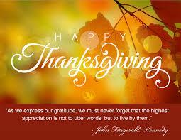 thanksgiving month november 2015