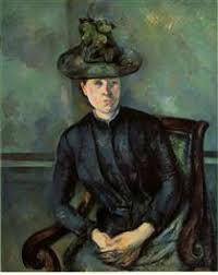 Madame Cezanne In A Red Armchair Artworks By Style Post Impressionism Wikiart Org