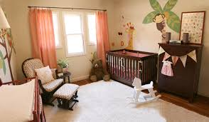 bedroom amazing play house with jungle themed bedroom surrounded nice contemporary nursery with animals wall mural and