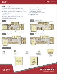 Fleetwood Pioneer Travel Trailer Floor Plans Fleetwood Rv Brochures U2013 Fleetwood Class A And Fleetwood Class C