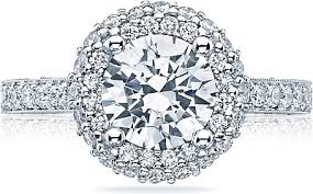 tacori halo engagement rings tacori halo engagement ring ht2522rd