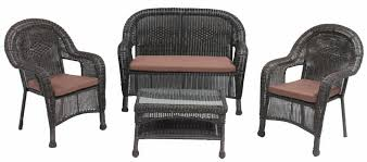 furniture wicker 4pc sofa set