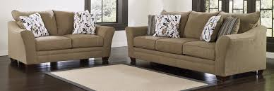 Ashley Furniture Living Room Chairs by Buy Ashley Furniture 9670138 9670135 Set Mykla Shitake Living Room