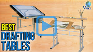 Glass Drafting Table With Light Top 8 Drafting Tables Of 2017 Video Review