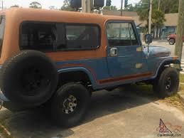 scrambler jeep years scrambler cj8 sky blue w rally top u0026 family roll bar