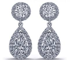 teardrop diamond earrings diamond earrings tear drop diamonds dangling earrings in 14k