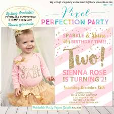 2nd birthday party invitations vertabox com