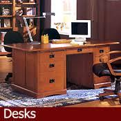 Oak Office Desks Home Office Furniture Mission Office Furniture Oak Office