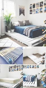 How To Make A Platform Bed From A Regular Bed by Best 25 Diy Bed Frame Ideas On Pinterest Pallet Platform Bed