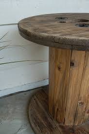 drum table for sale impressive matching burl drum tables habitat at 1stdibs within wood