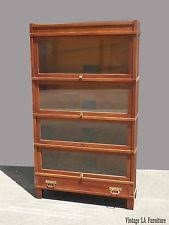 glass brown antique bookcases ebay