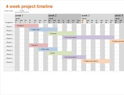 project timeline office templates