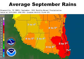 Texas Weather Map Rio Grande Valley Hit With Double Whammy Dry September Locks
