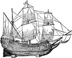 mayflower coloring page hard mayflower ship coloring pages