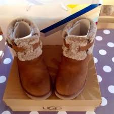 ugg s jocelin boot genuine uggs ugg australia jocelin shearling buckle boot in