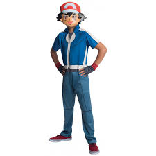 pokemon ash kids economy costume pokemon go anime costume