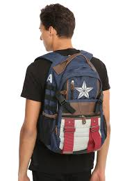 captain america spirit halloween marvel captain america built up backpack topic