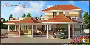 Kerala Home Design Veranda Traditional Style Kerala House In 3000 Sqft Architecture Kerala