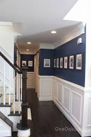 Where To Put Wainscoting In The Home Past Christmas Home Decorations White Paneling Moldings And