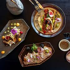 aya cuisine meets food at aya restaurant vacations travel magazine