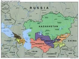 asia political map caucasus central asia political map 2000 4 mapsof net