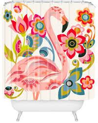 Flamingo Shower Curtains My 10 Favorite Flamingo Shower Curtains 24 More Retro Renovation
