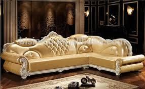 Luxury Leather Sofa Luxury Leisure Leather Sofa Set European Fashion Living Room