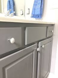 painted cabinets in the bathroom anonymous behr and painting tips