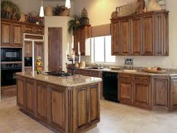 Kitchen Cabinets Wood by Luaun Painted And Tacked To Old Stained Oak Cabinets A Gradual