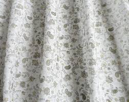 Gray Cafe Curtains Items Similar To White Gray Cafe Curtain Kitchen Valance Linen