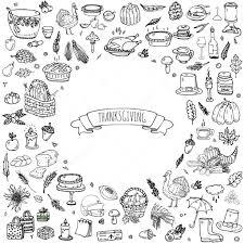 thanksgiving icons pictures thanksgiving icons set u2014 stock vector natasha pankina 117093718