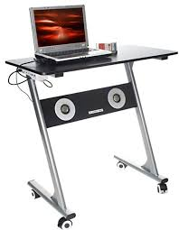 Laptop Desk With Speakers Coolbusinessideas Computer Desk With Built In Speakers