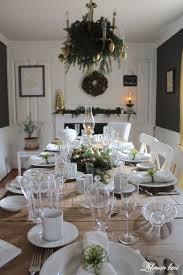 green u0026 gold christmas dining room lehman lane