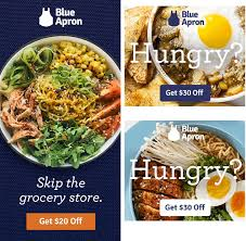 cuisine ad blue apron advertising identity branding blue