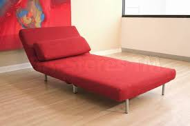 Sofa Bed Single 482 00 Modern Style Convertable Single Chair Sofa Bed In Red