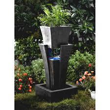 captivating backyard design with rock garden ideas as border of