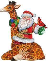 giraffe tree ornaments