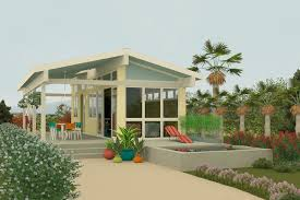 great one bedroom florida house with pool plan 917 2
