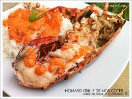 homard cuisine homard grillé de nos côtes gros plaisir de saison trop bon