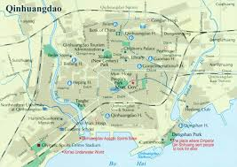 Map Of Great Wall Of China by Qinhuangdao City Map Qinhuangdao China Map Qinhuangdao Tour Guide
