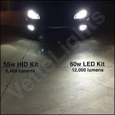 brightest hid lights for cars 2005 2013 c6 corvette brightest available led fog lights vette lights