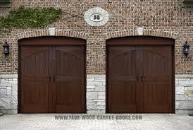 Wood Overhead Doors Fauxwood