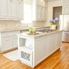 Best  Travertine Backsplash Ideas On Pinterest Beige Kitchen - Kitchen backsplash white cabinets