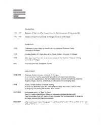 Resume Style Guide American Resume Resume Example