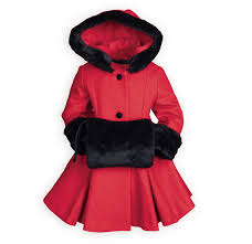 scarlet u0026 mink girls hooded coat exclusive with made in usa