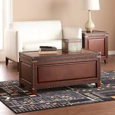 Coffee Tables Chest Coffee Table Decorative Trunks You Ll Wayfair