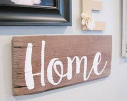 Barnwood Home Decor Barn Wood Sign Rustic Sign Reclaimed Wood Sign Christian