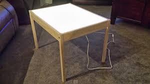 Ikea Diy by Hobby Mommy Creations Diy Light Table Ikea Hack